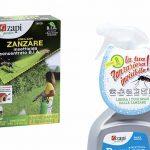 Due prodotti della linea Zapi Zanzare