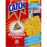 Catch, antitarme dei Vestiti per gli armadi e la casa (sei adesivi)