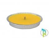 Palucart Candela citronella Giardino in Alluminio 11 cm Set da 63 Pezzi
