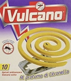 Spira Vulcano, Spirali Profumate – 5 confezioni da 10 spirali [50 spirali]