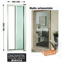 Zanzariera a rullo in alluminio per porte/balconi